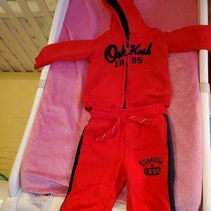 Osh kosh warm suit for babe